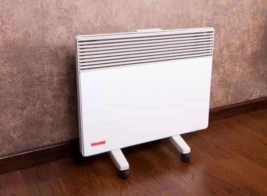 электрический конвектор для отопления помещения