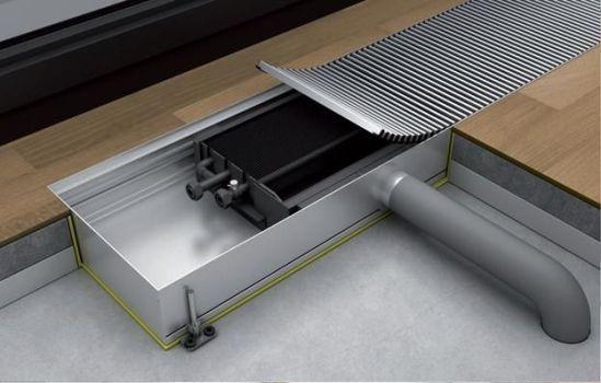 принцип действия конвектора отопления