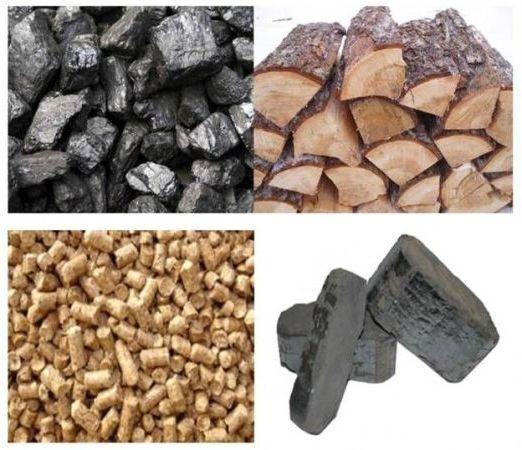 дрова уголь опилки