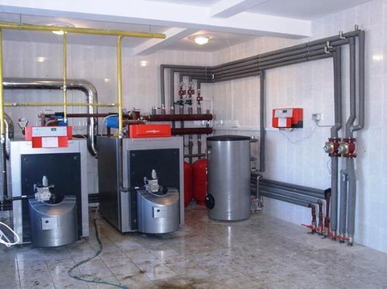 Как сделать газовую котельную в подвале 114
