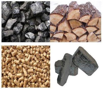 дрова уголь