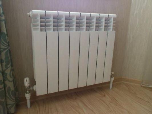 радиатор в ленинградской системой
