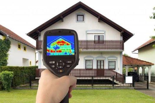 сканирование дома для утепления участков