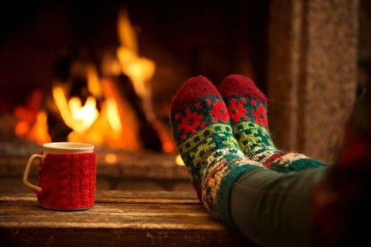 ноги в тепле