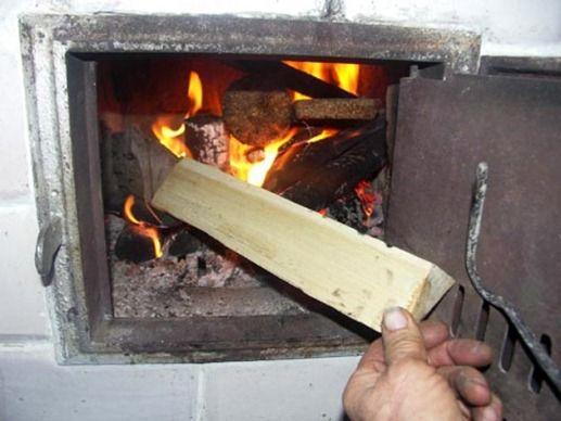 печное отопление с использованием дров