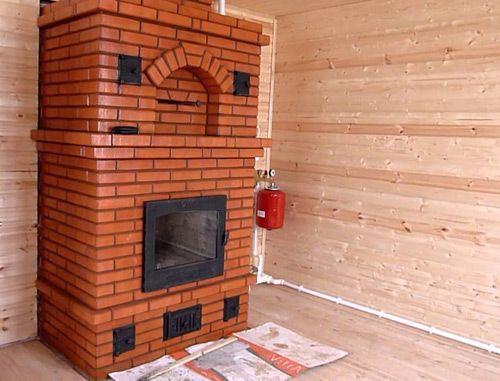 комбинированная система отопления печь и вода