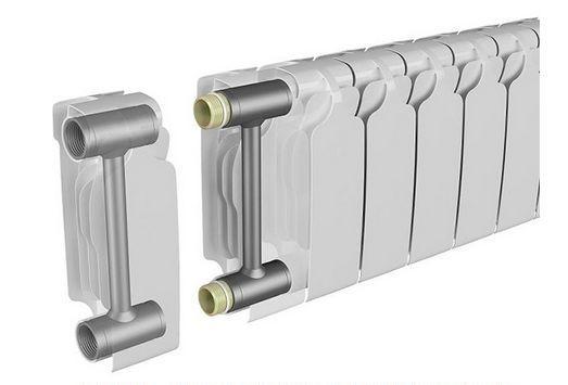 секционный радиатор для частного дома