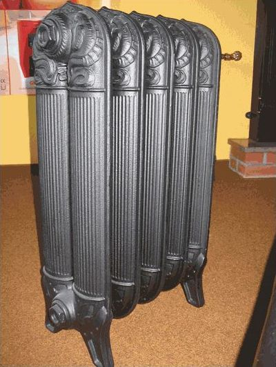 радиаторы из чугуна под старину