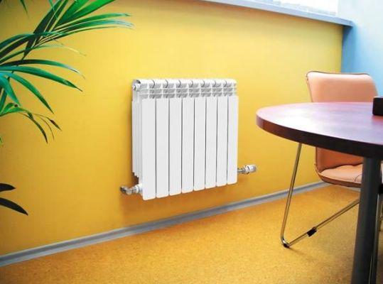 миниатюрный радиатор для квартиры