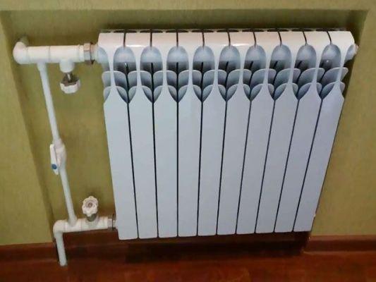алюминиевый радиатор для квартиры