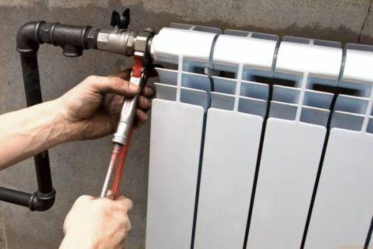 монтаж радиатора отопления в квартире