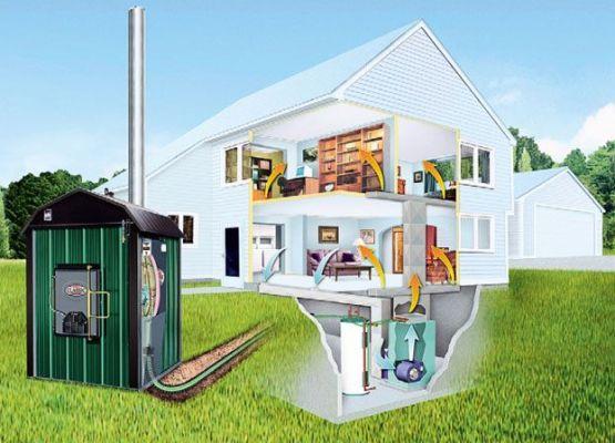 теплоноситель в системе отопления загородного дома