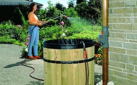 использование дождевой воды для отопления системы