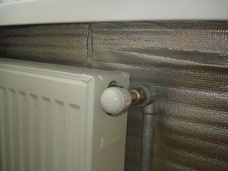 улучшить теплоотдачу фольгой