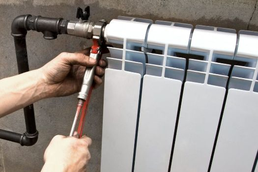 подсоединение батареи к водопроводу