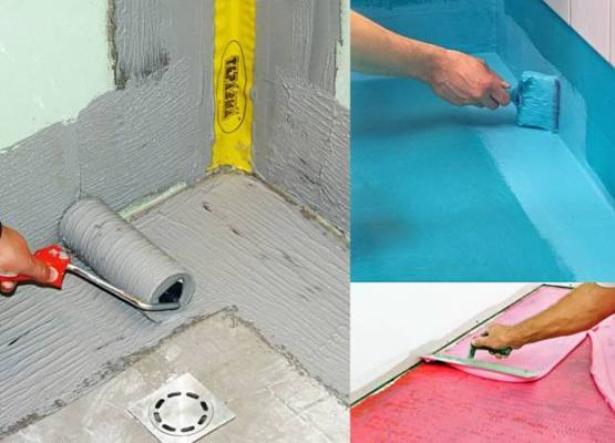 Гидроизоляция пола в ванной комнате под плитку: что лучше