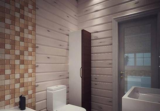 возможные дизайны ванной комнаты с панелями из пластика