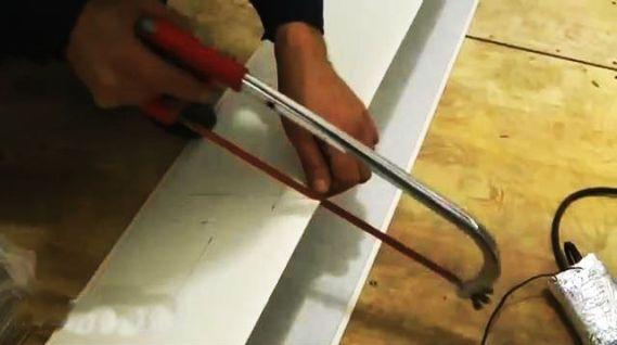 как резать панели