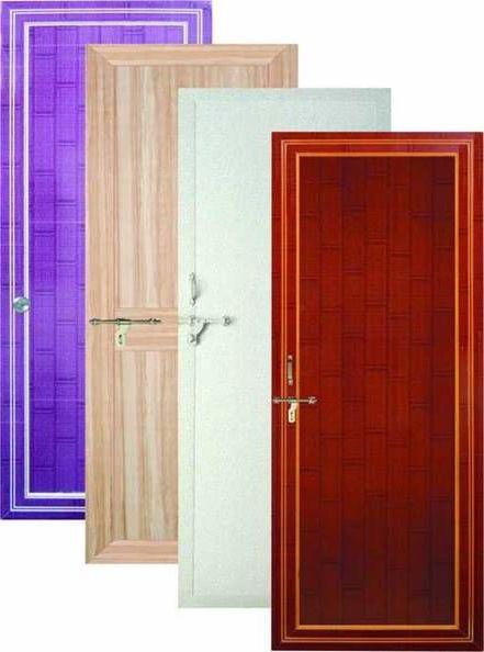 ассортимент структурных пластиковых дверей для ванной и туалета