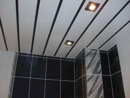реечный алюминиевый потолок