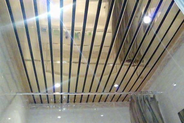 металлизированный потолок