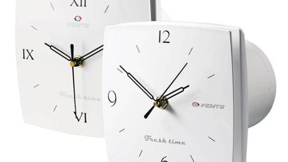 декоративный вентилятор в виде часов