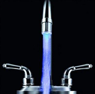 аэратор с подсветкой воды