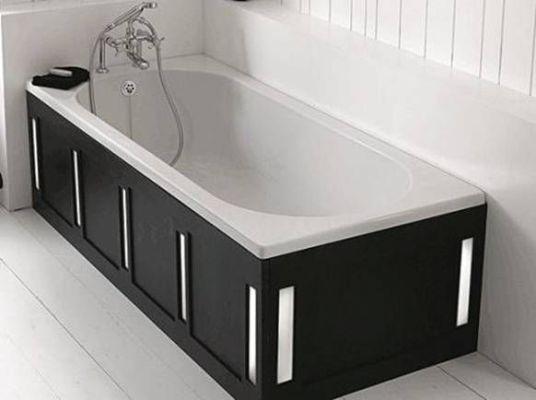 чугунная ванна в дизайне квартиры