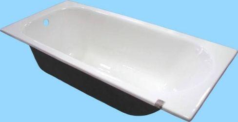 крупная чугунная ванная