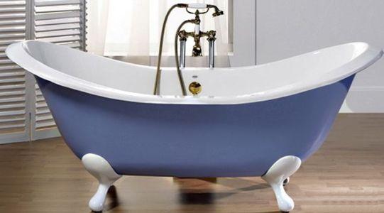 чугунная ванна ретро стиль