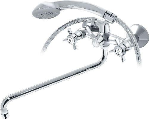 простой смеситель для ванной кайзер