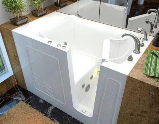 встраиваемая сидячая ванна