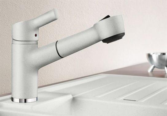 керамический смеситель для кухни