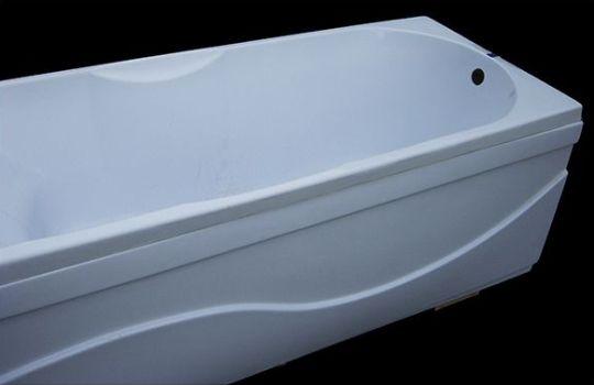 чугунная ванна с экраном