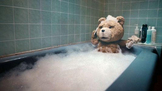 медведь в чугунной ванне
