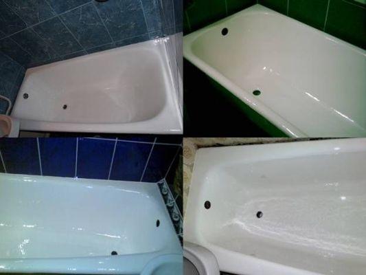 отреставрированные ванны
