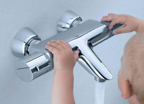 термостатический смеситель для ванны