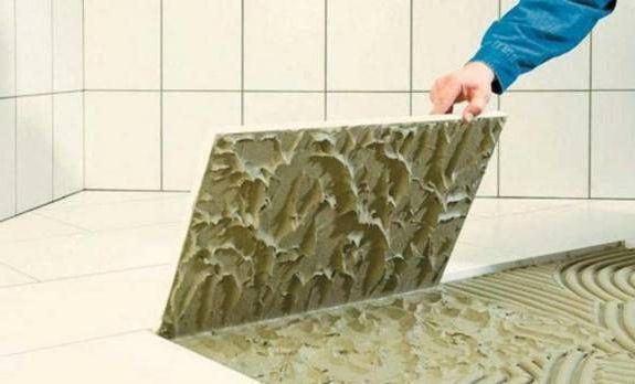 клей для плитки в ванную комнату
