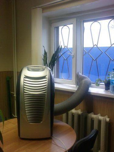 настольный с воздуховодом кондиционер
