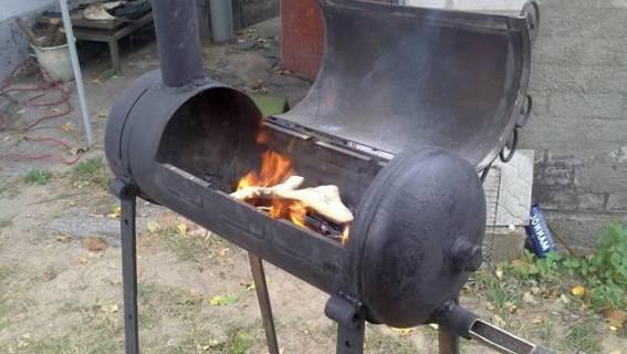 пожаробезопастность металлического мангала