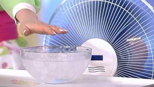 лед к вентилятору