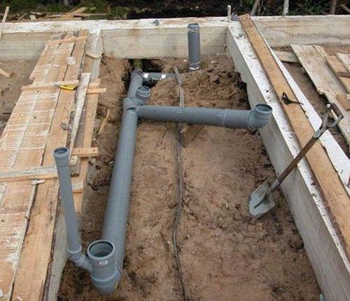 подготовка канализации