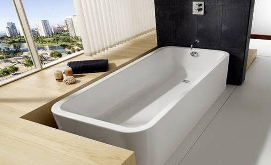 стандартная установка ванной