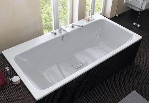 стальная одиночная ванна