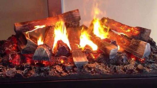 пламя электрического камина