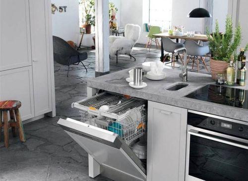 мойка посуды готова к работе