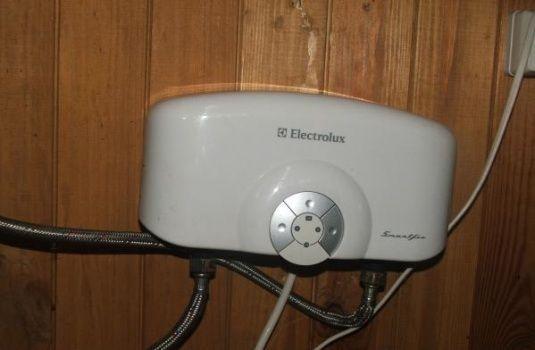 водонагреватель электролюкс для дачи