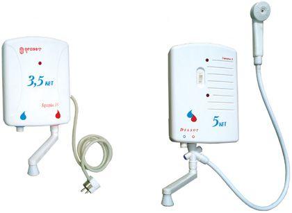 водонагреватели с разной мощностью