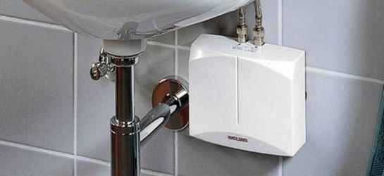 водонагреватель проточный под раковиной