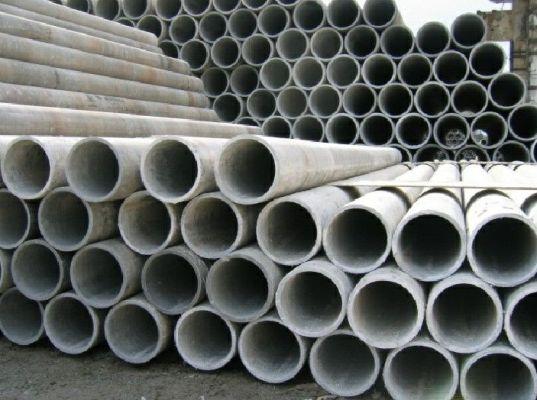 асбестовые трубы на оптовом складе
